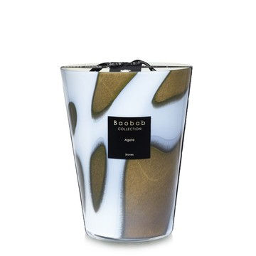 "Baobab Scented Candle ""Agate"""
