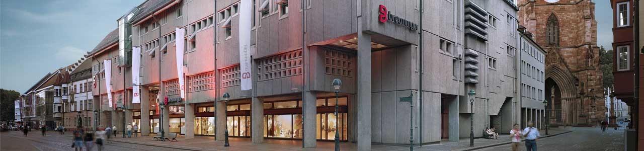 sale retailer dab58 992e7 Breuninger Haus Freiburg :: E. Breuninger GmbH & Co